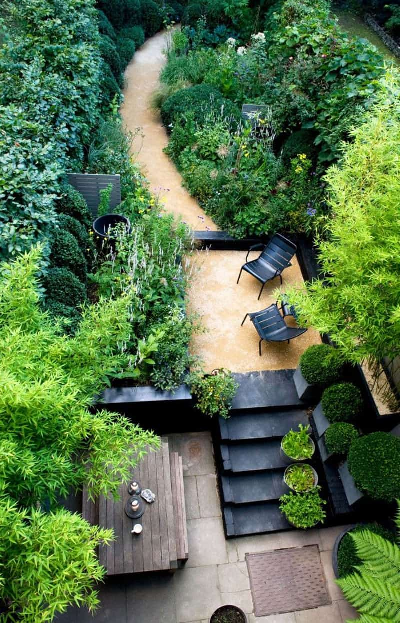 20 Sloped Backyard Design Ideas DesignRulz
