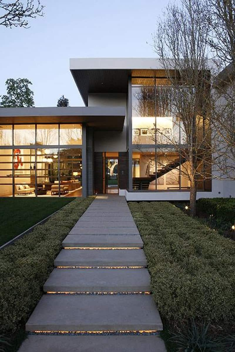 40 Ideas Of How To Design Exterior Stairways   Outside Stairs For House