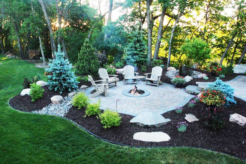 Fire Pit Landscaping Ideas Creative New Home Design Fire Pit Best Outdoor Fire Pit Seating Ideas | Designrulz