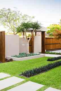 Modern Front Yard Landscape Design Ideas