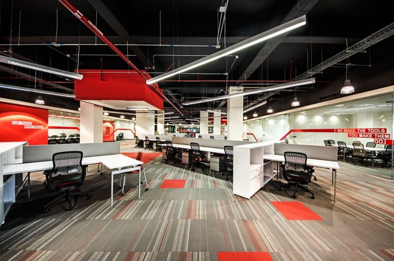 New Lenovo Office by Contract Workplaces Guadalajara