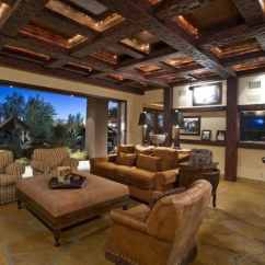 Best Color Paint Living Room Feng Shui L Shaped Sofa In 25 Modern Interiors With Exposed Ceiling Beams