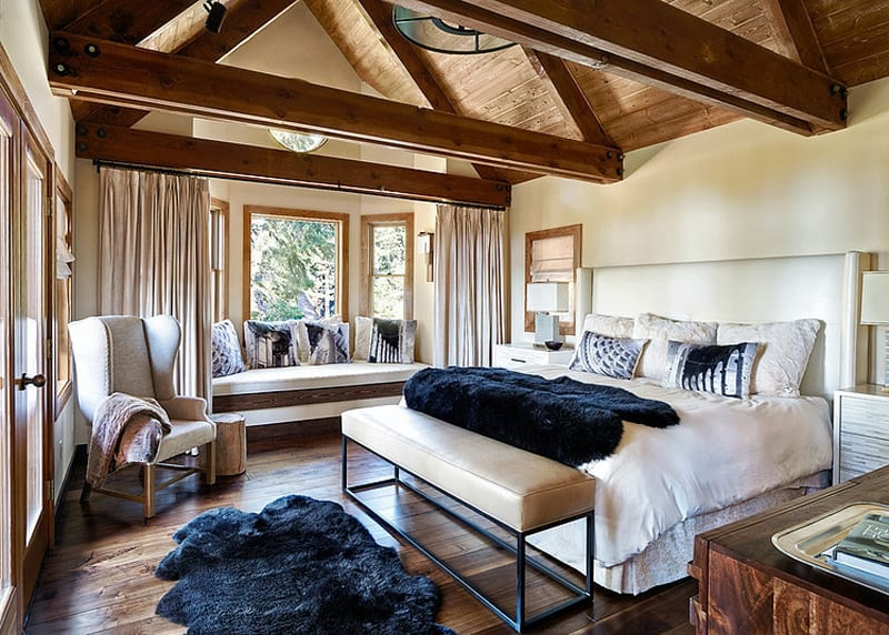 Pretty Living Room 25 Modern Interiors With Exposed Ceiling Beams