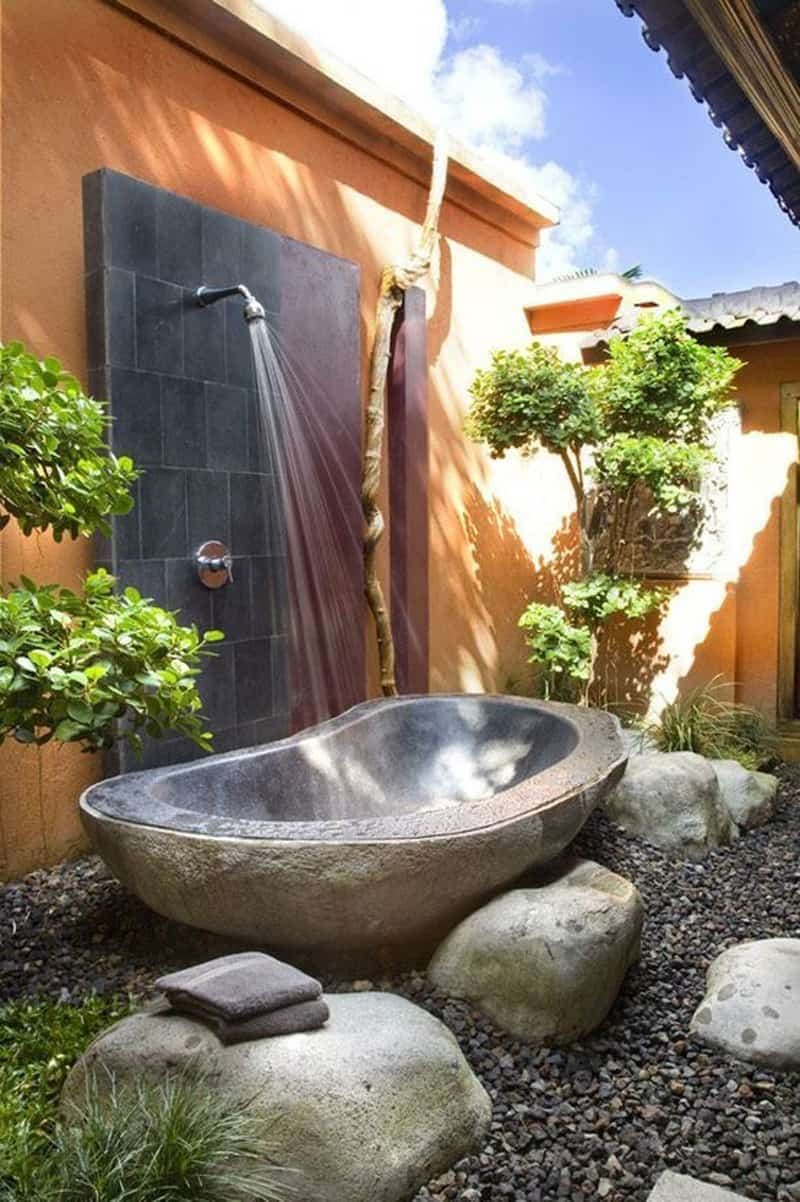 Beat the Heat 20 Outdoor Showers or Outdoor Bathrooms to