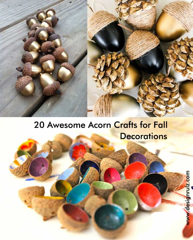 diy living room chair cover modern design ideas 20 awesome acorn crafts for fall decorations