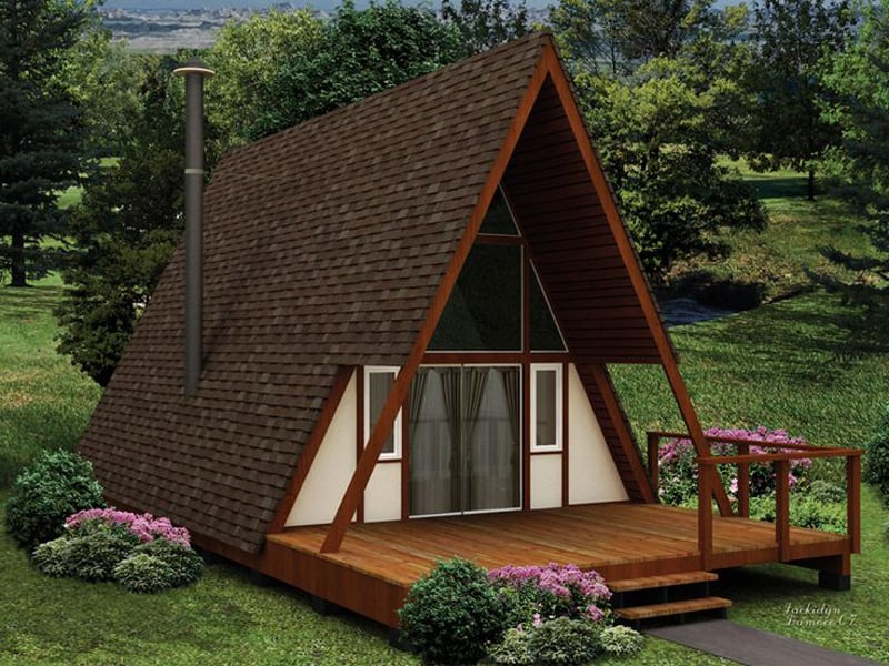 30 Amazing Tiny A Frame Houses That You'll Actually Want To Live In