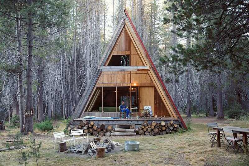 30 Amazing Tiny Aframe Houses That Youll Actually Want