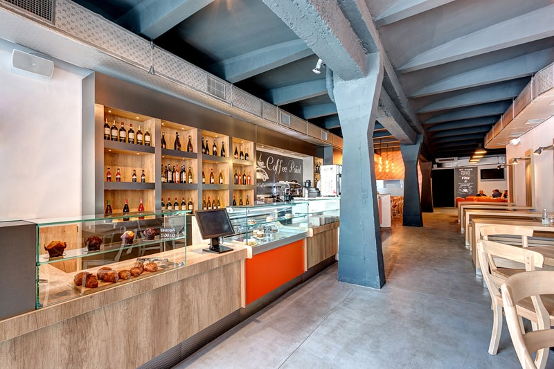 The Bakers A Conceptual Space where Coffee Bakery and Bar are Reunited for an Innovative