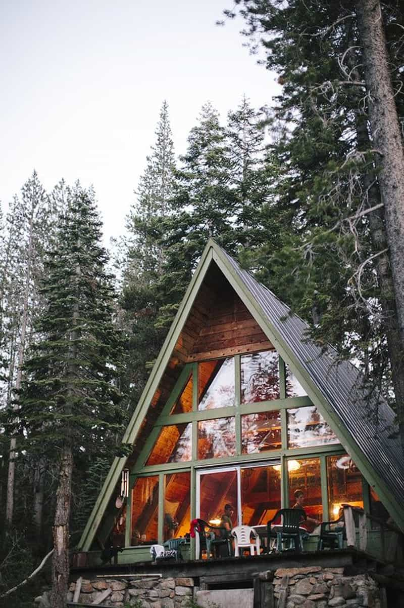 A Frame House Plans Canada