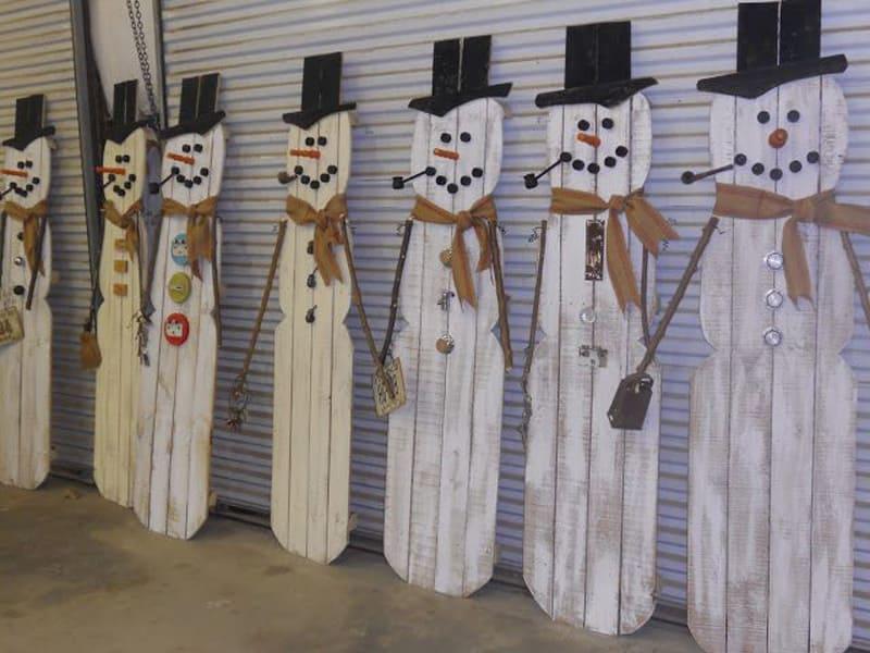 Pallet Christmas Decorations