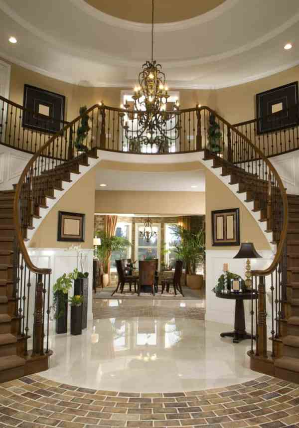 Luxurious Grand Foyers Elegant Home