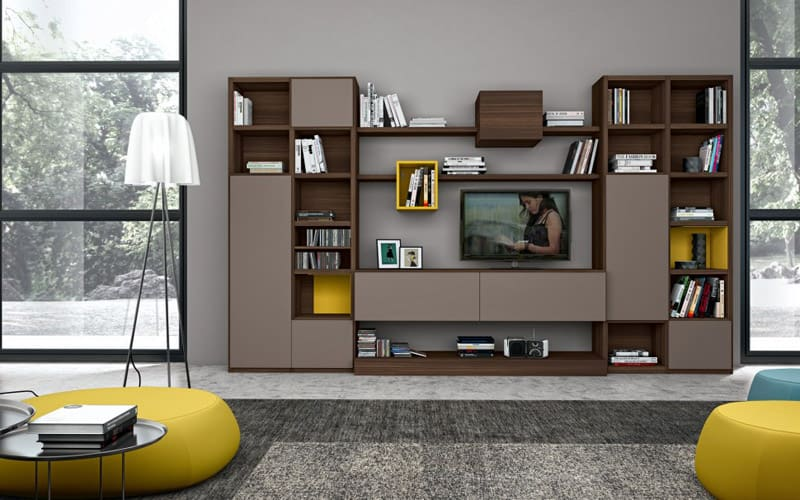 living room furniture arrangements with tv red couch modern 30 wall units ideas that everyone ...