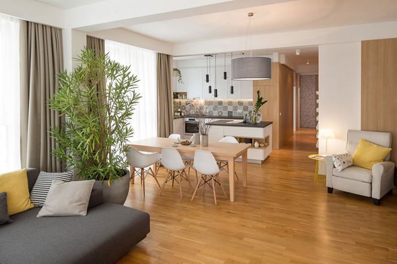 Nordic Interior Design For A Lovely Penthouse