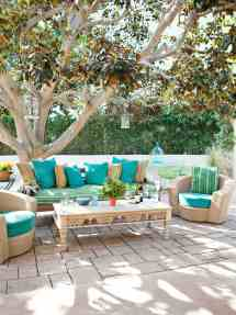 Cool Sea And Beach-inspired Patios