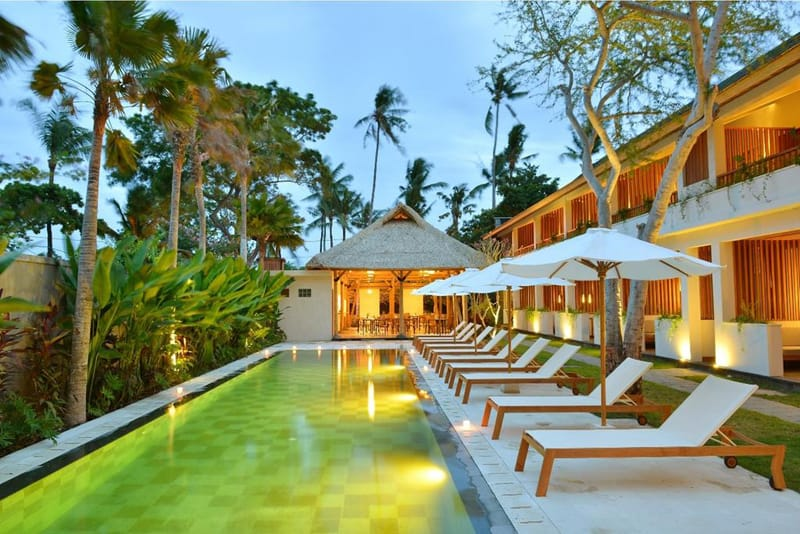Beautiful Small Boutique Hotel The Open House, Bali