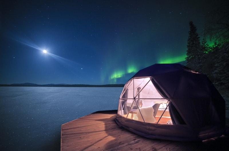 Kiruna Sweden Northern Lights Forecast