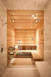 Spectacular Sauna Design Home