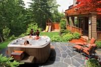 30 Stunning Garden Hot Tub Designs