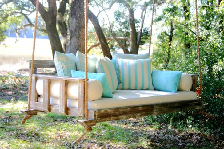 porch swing for endless outdoor relaxation