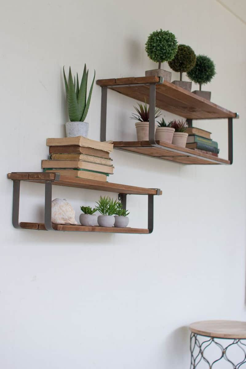 50 Amazing Floating Shelves to Create Contemporary Wall