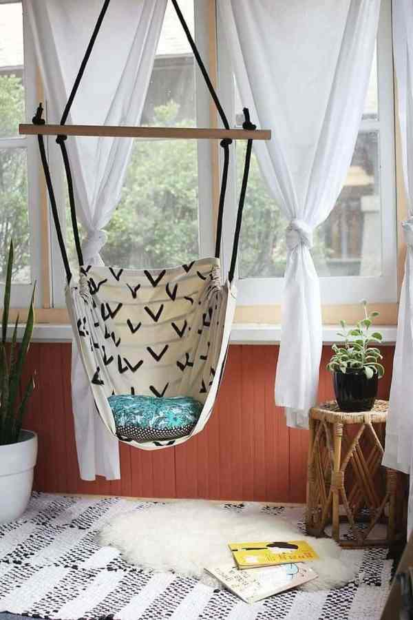 Of Beautiful Indoor Hammock Beds Decor Ideas