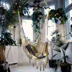 White Bohemian Hanging Chair All Weather Garden 15 Of The Most Beautiful Indoor Hammock Beds Decor Ideas Chairs