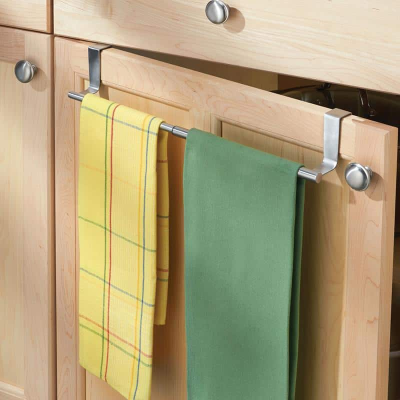 change cupboard doors kitchen shabby chic stools 17 examples of towel holder make the most your