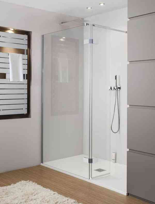 Walk-In Shower Enclosures for Small Bathrooms