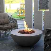 Concrete Fire Pit Tables