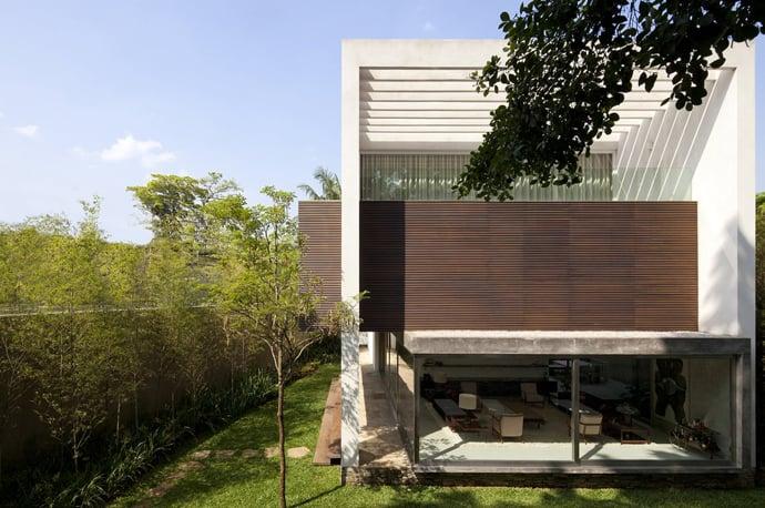 easy sofa table diy liquidators fresno terra nova house by isay weinfeld, sao paulo, brazil