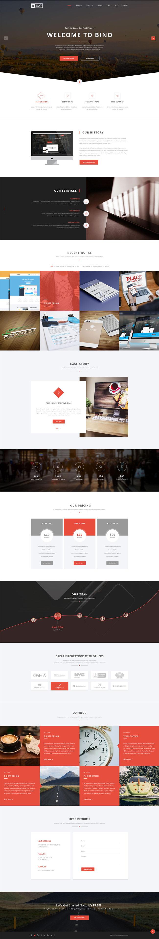 Bino-Free-Landing-Page-PSD-Template