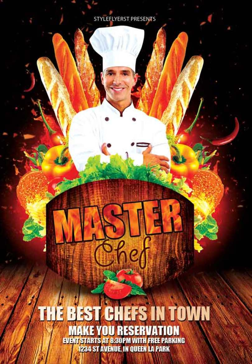 Master-Chef-PSD-Flyer-free