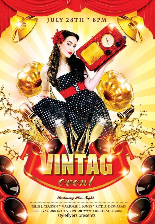 Vintage-Event-Flyer-PSD-free