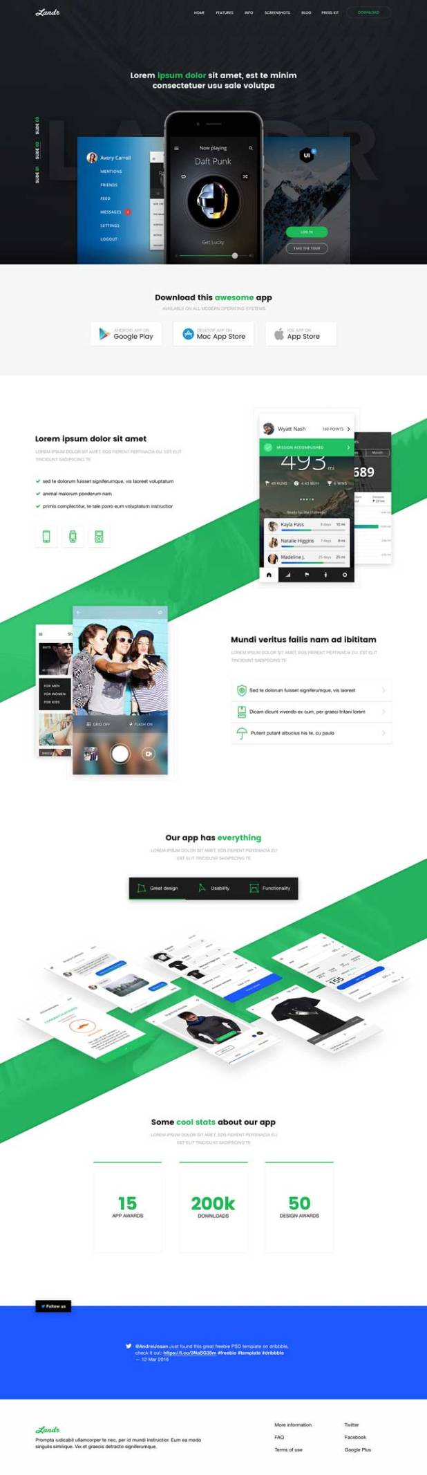 Landr-Free-App-Landing-Page-PSD-Template-Preview