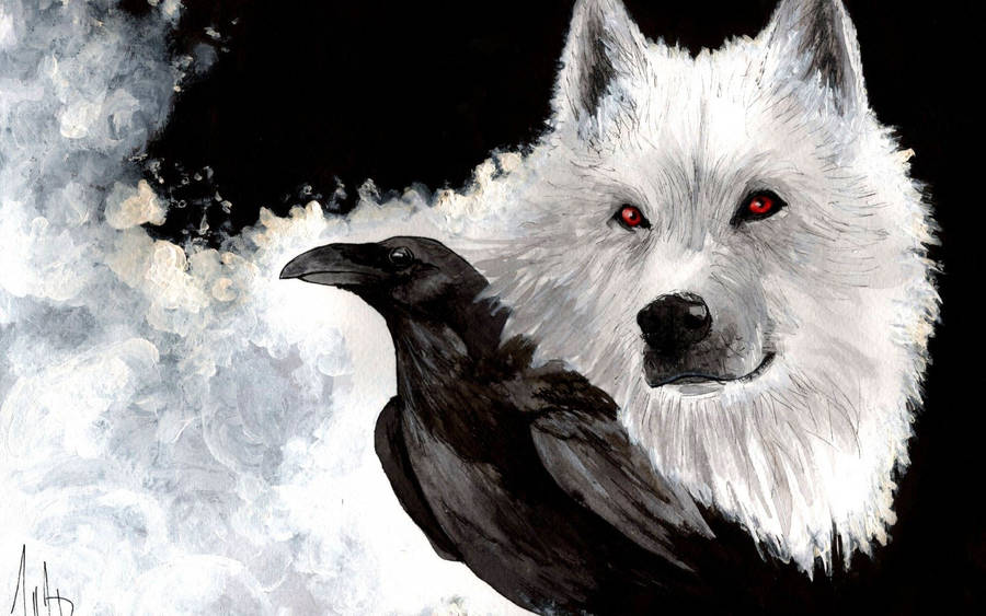 3d Hp Wallpapers Black White Wolf Pack On A Winter Day Wallpaper Animal