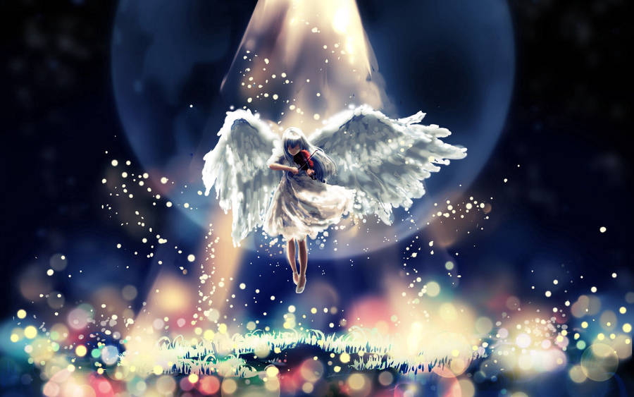 Cute Angel Wings Wallpaper Dark Angel Wallpaper Fantasy Wallpapers 16196