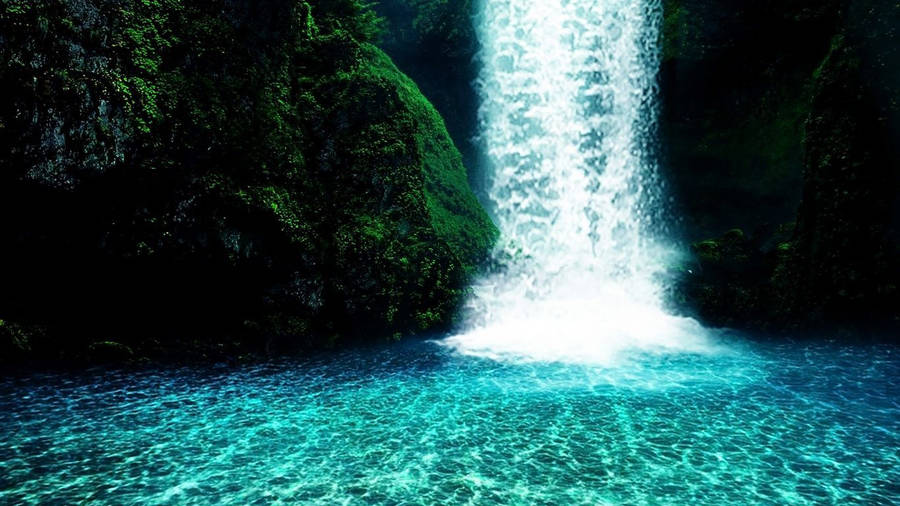 Fall Typography Laptop Wallpaper Small Forest Waterfall Wallpaper Nature Wallpapers 13325