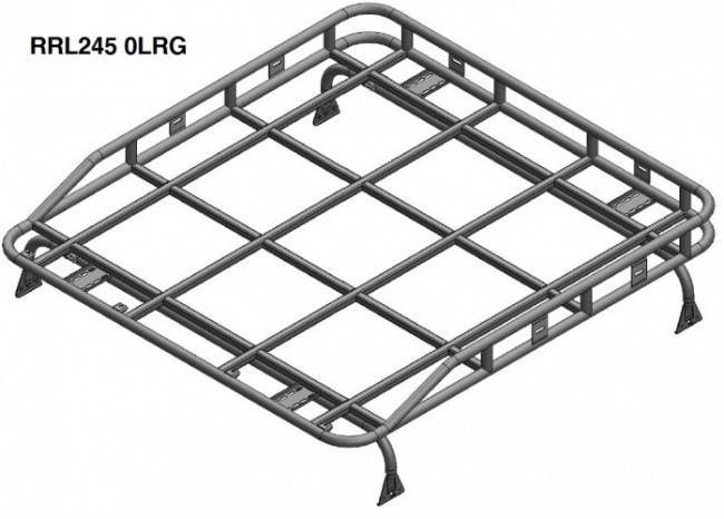 Safety Devices Explorer Roof Rack 110 / 130 Double Cab