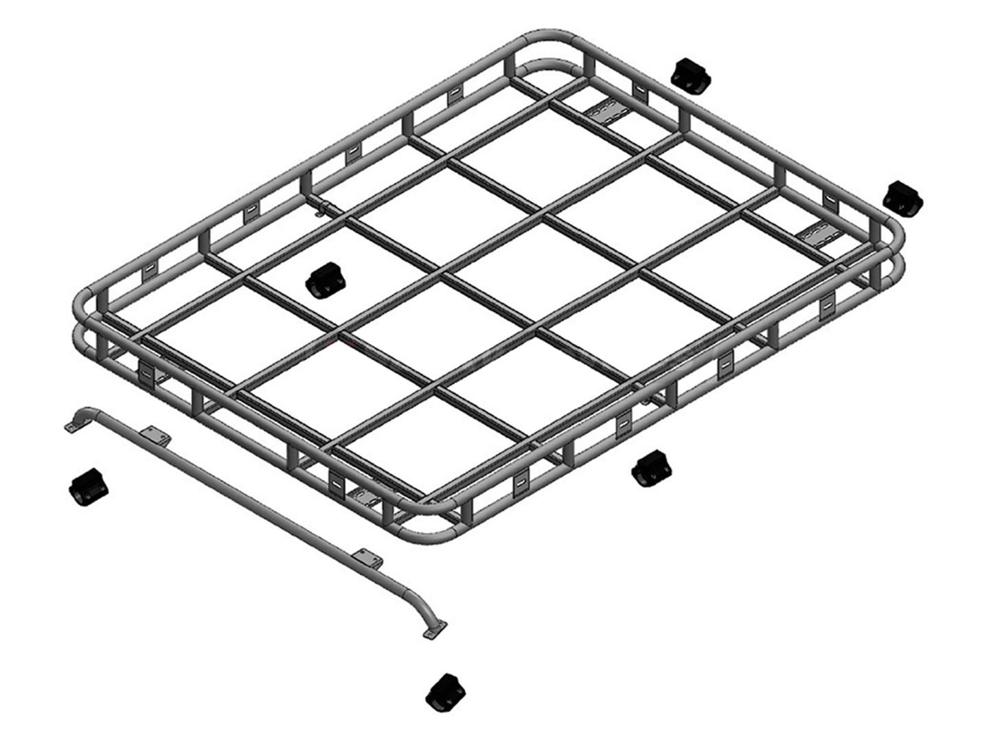 Safety Devices Explorer Roof Rack 90 / 110 With Roll Cage