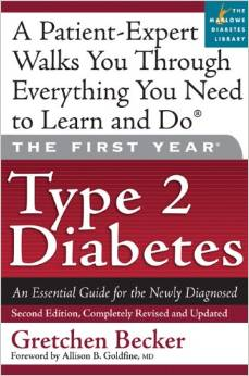 Grethen Becker's book for people with type 2 diabetes