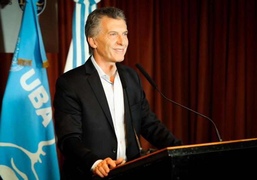 Macri encabeza acto por el 150° aniversario del Colegio Militar