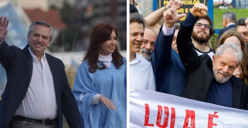 Los mensajes de Alberto Fernández y Cristina Kirchner tras liberación de Lula