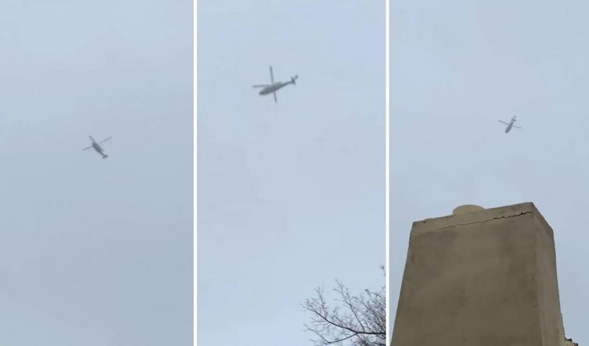 Video: el helicóptero de Kobe Bryant entre la niebla minutos antes del accidente