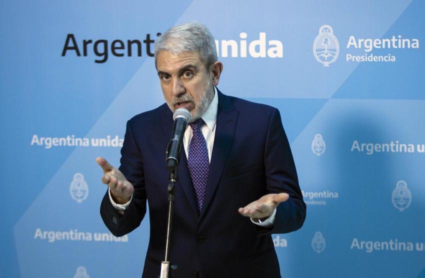 Aníbal Fernández afirmó que el Frente de Todos