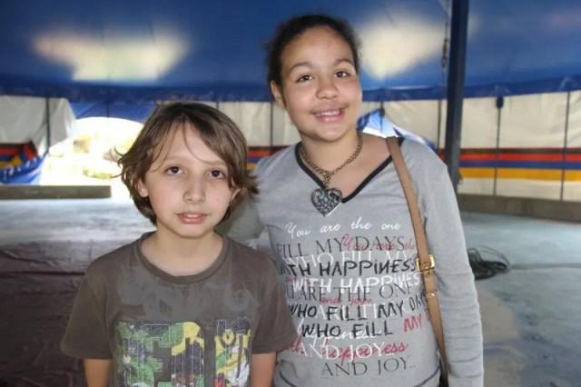 Lohan e Antonia foram os guias na visita do Skal ao projeto Âncorra