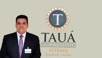 Odair Gonçalves, novo gerente do hotel. (Foto: divulgação)