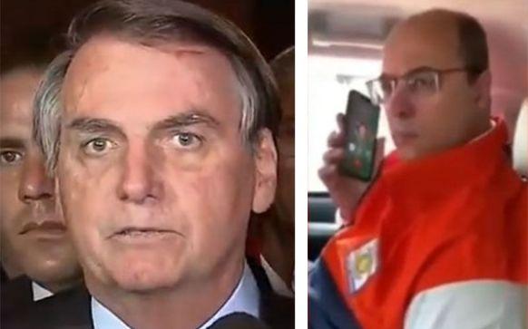 Bolsonaro está na Índia e o presidente em exercício, Hamilton Mourão, recebeu a ligação do governador do Rio