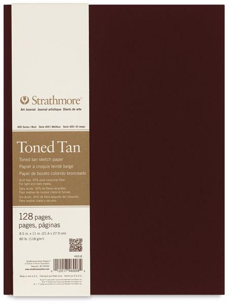 400 series toned sketch journal warm tan