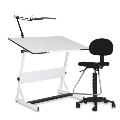 drafting table chairs outdoor glass and contemporary set blick art materials