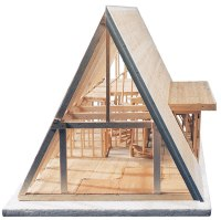 Midwest Products A-Frame Cabin Kit - BLICK art materials